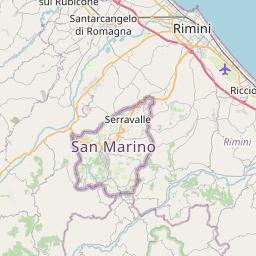 Map of Rimini