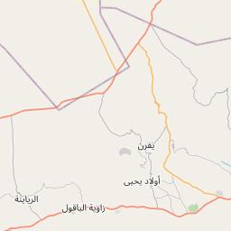 Map of Yafran