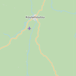 Map of Koulamoutou