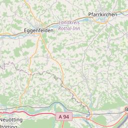 Map of Braunau
