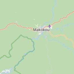 Map of Makokou