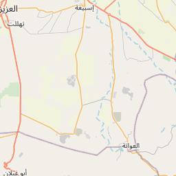 Map of Gharyan