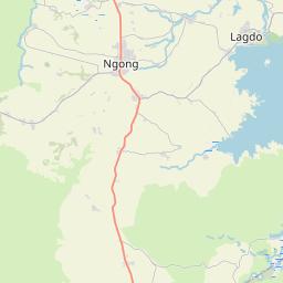 Map of Garoua