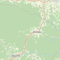Map of Bertoua