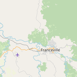 Map of Franceville