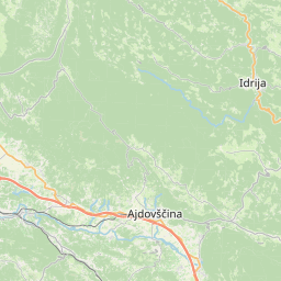 Map of Postojna