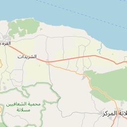 Map of Tarhuna