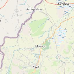 Map of Mokolo