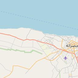 Map of Zliten