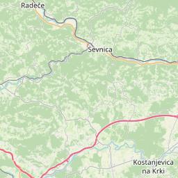 Map of Zagorje