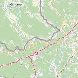 Map of Karlovac