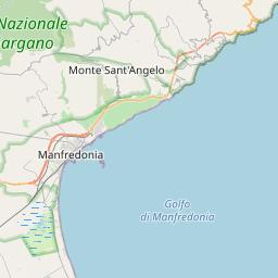 Map of Foggia