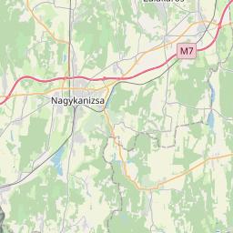 Map of Koprivnica