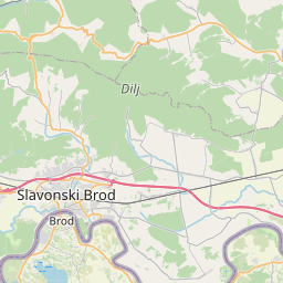 Map of Slavonski