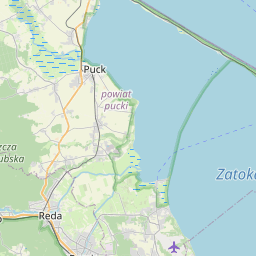 Map of Gdynia