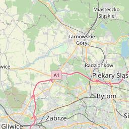 Map of Rybnik
