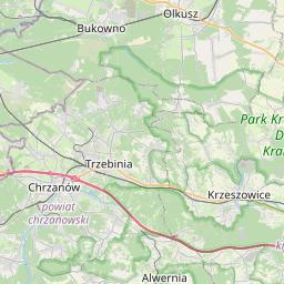 Map of Sosnowiec