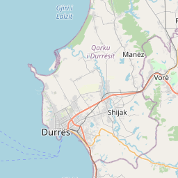 Map of Shijak