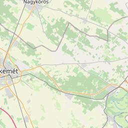 Map of Szolnok