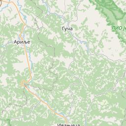 Map of Kraljevo
