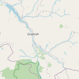 Map of Gramsh