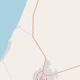 Map of Ajdabiya