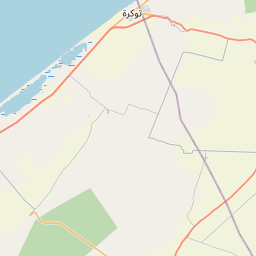 Map of Benghazi