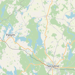 Map of Olsztyn