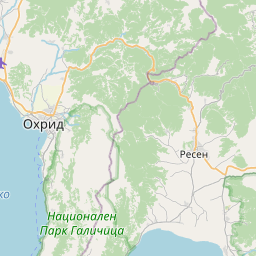 Map of Ohrid