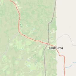 Map of Alindao