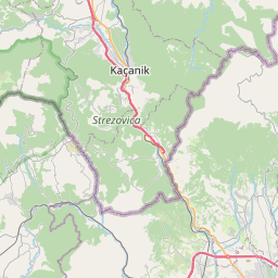 Map of Tetovo