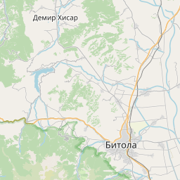 Map of Prilep