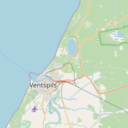 Map of Ventspils