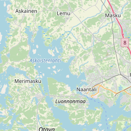 Map of Turku