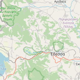 Map of Gevgelija
