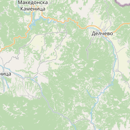 Map of Shtip