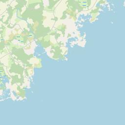 Map of Kuressaare