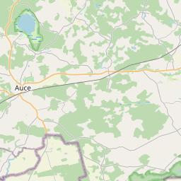 Map of Dobele