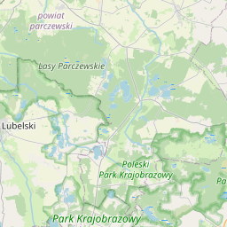 Map of Lublin