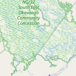 Map of Maun