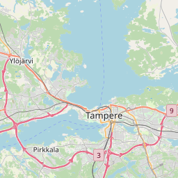 Map of Tampere