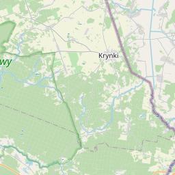 Map of Województwo