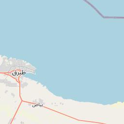 Map of Tobruk