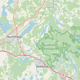 Map of Kirkkonummi