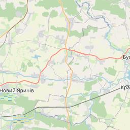 Map of Lviv