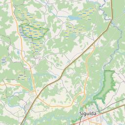 Map of Sigulda