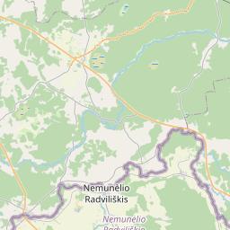 Map of Aizkraukle