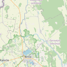 Map of Bauska