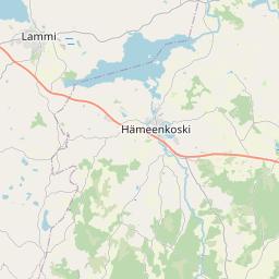 Map of Lahti