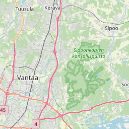 Map of Espoo
